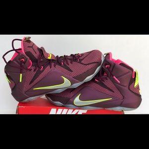 Nike leBron 12 Double Helix Men's